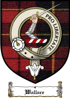 Wallace Clan Badge / Tartan FREE preview