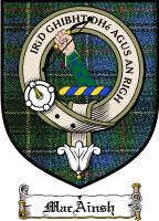 Macainsh Clan Badge / Tartan FREE preview