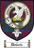 Downie Clan Badge / Tartan FREE preview