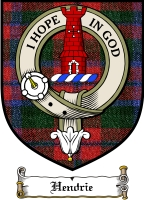 Hendrie Clan Badge / Tartan FREE preview