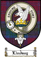 Lindsay Clan Badge / Tartan FREE preview