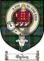 Ogilvy Clan Badge / Tartan FREE preview