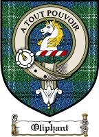 Oliphant Clan Skene Clan Badge / Tartan FREE preview