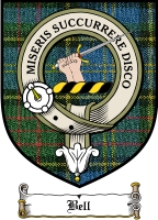 Bell Clan Badge / Tartan FREE preview