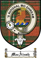 Macainsh Clan Macinnes Clan Badge / Tartan FREE preview