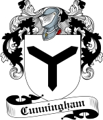 Cunningham Family Crest / Cunningham Coat of Arms JPG Download