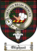 Oliphant Clan Sutherland Clan Badge / Tartan FREE preview