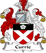 Currie Family Crest / Currie Coat of Arms JPG Download