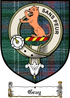 Gray Clan Badge / Tartan FREE preview
