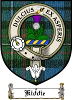 Kiddie Clan Munro Clan Badge / Tartan FREE preview