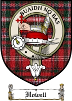Howell Clan Badge / Tartan FREE preview