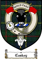 Caskey Clan Badge / Tartan FREE preview