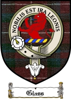 Glass Clan Badge / Tartan FREE preview