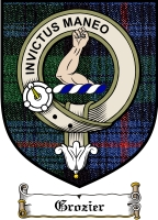 Grozier Clan Badge / Tartan FREE preview