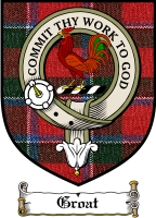 Groat Clan Badge / Tartan FREE preview