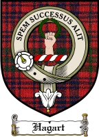 Hagart Clan Badge / Tartan FREE preview