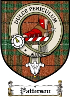 Patterson Clan Maclaren Clan Badge / Tartan FREE preview