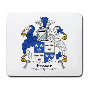 Fraser Coat of Arms Mouse Pad