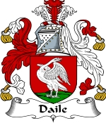 Daile Family Crest / Daile Coat of Arms JPG Download