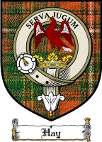Hay Clan Badge / Tartan FREE preview