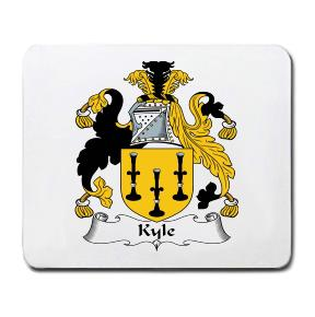 Kyle Coat of Arms Mouse Pad