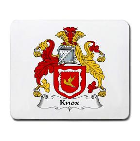 Knox Coat of Arms Mouse Pad