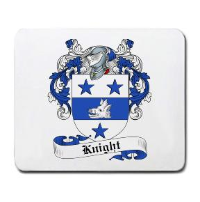 Knight Coat of Arms Mouse Pad