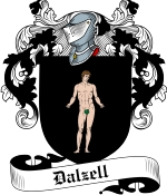 Dalzell Family Crest / Dalzell Coat of Arms JPG Download