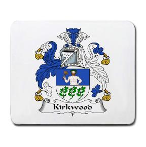 Kirkwood Coat of Arms Mouse Pad