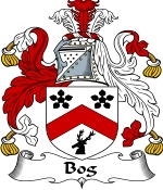 Bog Family Crest / Bog Coat of Arms JPG Download
