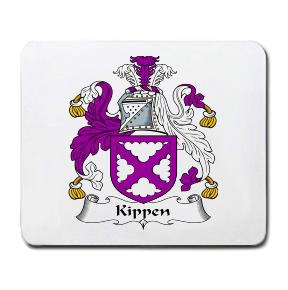 Kippen Coat of Arms Mouse Pad