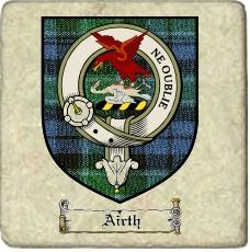 Airth Clan Badge Marble Tile