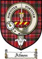 Alison Clan Macdonald Clanranald Clan Badge / Tartan FREE preview