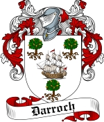 Darroch Family Crest / Darroch Coat of Arms JPG Download