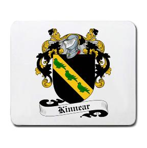 Kinnear Coat of Arms Mouse Pad
