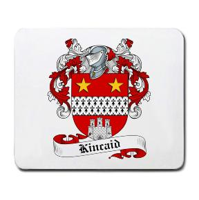 Kincaid Coat of Arms Mouse Pad