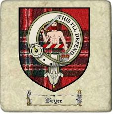 Bryce Clan Badge Marble Tile