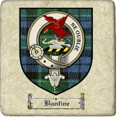 Buntine Clan Badge Marble Tile