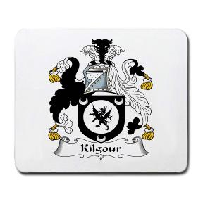 Kilgour Coat of Arms Mouse Pad