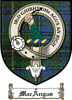 Macangus Clan Badge / Tartan FREE preview