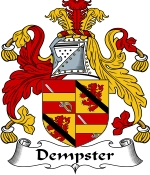 Dempster Family Crest / Dempster Coat of Arms JPG Download