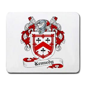 Kennedy Coat of Arms Mouse Pad