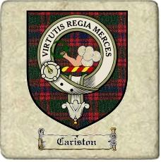Cariston Clan Badge Marble Tile