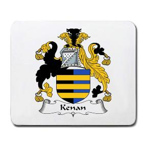 Kenan Coat of Arms Mouse Pad