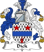 Dick Family Crest / Dick Coat of Arms JPG Download