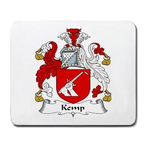 Kemp Coat of Arms Mouse Pad