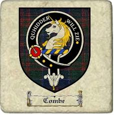 Combe Clan Stewart Appin Clan Badge Marble Tile