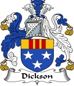 Dickson Family Crest / Dickson Coat of Arms JPG Download