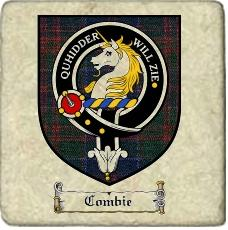 Combie Clan Stewart Appin Clan Badge Marble Tile