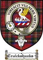 Cruickshanks Clan Badge / Tartan FREE preview
